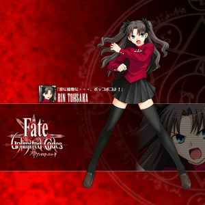 [Game][Takeuchi Takashi][Fate/Stay Night] Rin Tohsaka